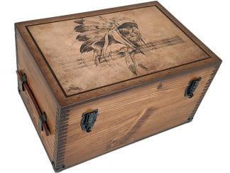 American Indian Chief Keepsake Box