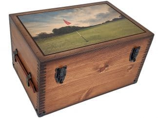 Golf Course Keepsake Box