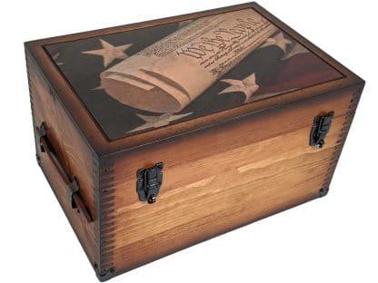 We the People Constitution Keepsake Box