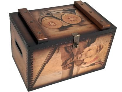 Laborador Retriever Shotgun Ammo Box
