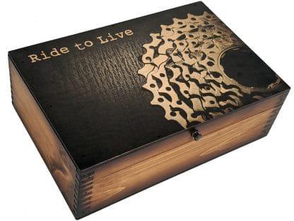 Ride To Live Memory Box