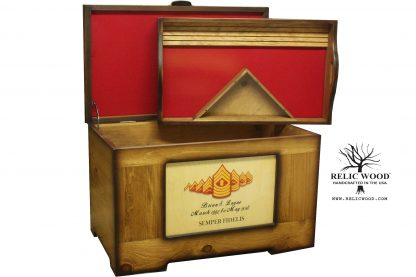 US Military Retirement Gift Trunk