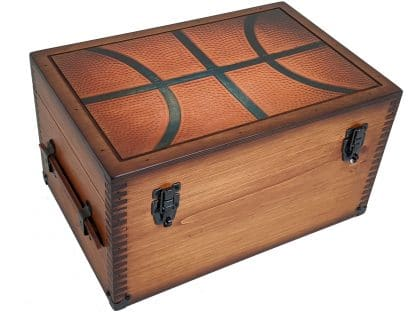 Basketball Player Coach Memories Keepsake Box GIft