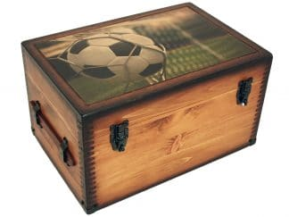 Soccer Player Coach Keepsake Box