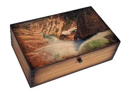 Yellowstone Lower Falls Medium Box
