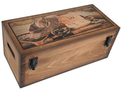 Vintage Fly Fishing Tackle Storage Box