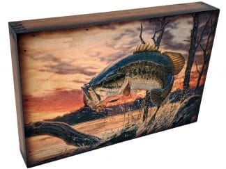 Bass Fishing Home Decor Accent
