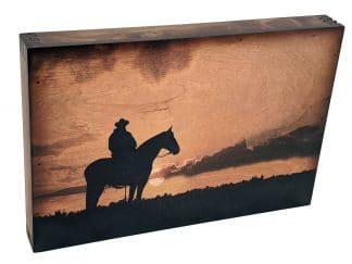 Lone Cowboy Wall Art