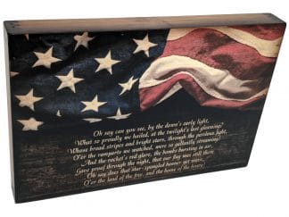 US National Anthem Wall Art