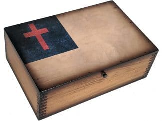 Christian Flag Box