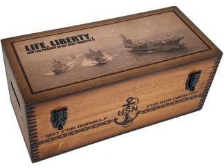 US Navy Pursuit Storage Box