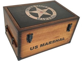 US Marshal Keepsake Box Retirement Gift