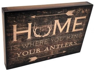 Home is where you hang your antlers