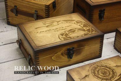 Laser Engraved Cigar Box