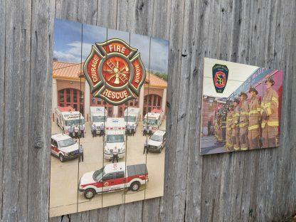Fire Station Decor