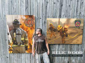 Fire Department Pallet Signs