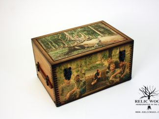 Custom Hunting Photo Keepsake Box