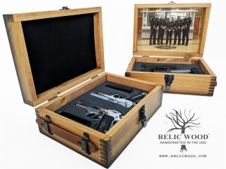 Custom Law Enforcement Pistol Case
