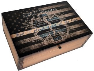 EMT Prayer Memory Box