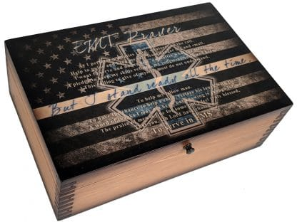 EMT Prayer Memory Box