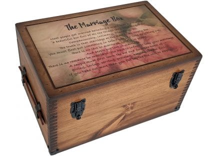 Marriage Poem Keepsake Box