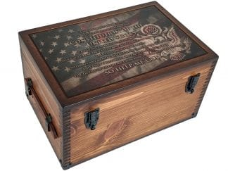 Military Oath of Office Keepsake Box