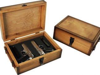 Plain Pistol Handgun Display