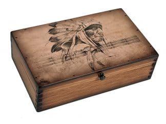 American Indian Chief Medium Box