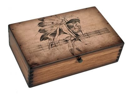 American Indian Chief Medium Box