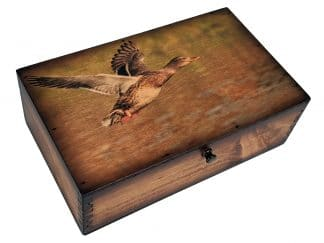Duck Flight Medium Wooden Box
