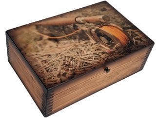 Fly Fishing Rod Reel Memory Box