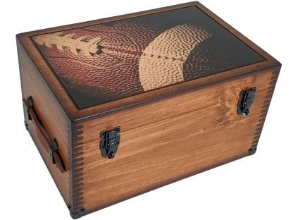 Football Memories Keepsake Box