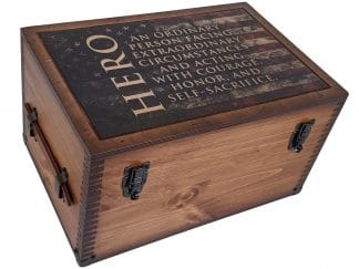 Hero Keepsake Box