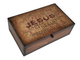Jesus Is Lord Medium Box