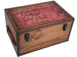 Loved your Yesterday Keepsake Box