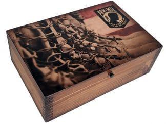 POW MIA Memory Box