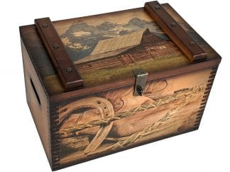 Teton National Park Home Accents Ammo Box