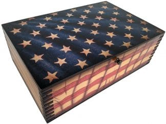 US Flag Box