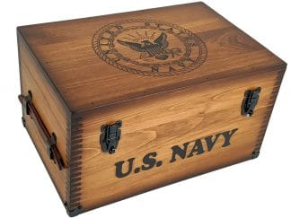 US Navy Keepsake Box Retirement Gift