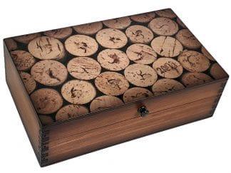 Wine Corks Wooden BOx