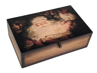 Santa Claus Wooden Box