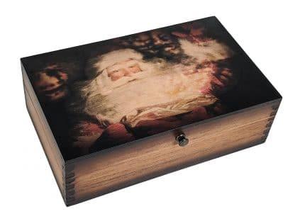 Santa Claus Wooden Box