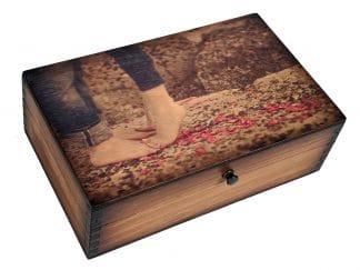 Young Love Medium Wood Box