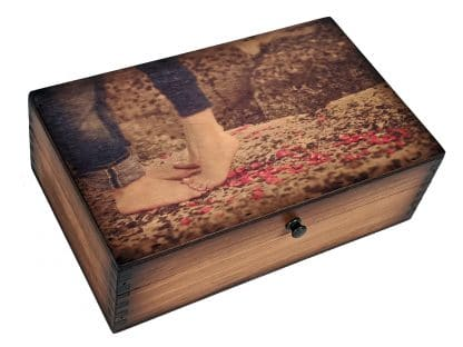 Young Love Medium Wood Box
