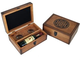 Celtic Knot Alcohol Gift Set